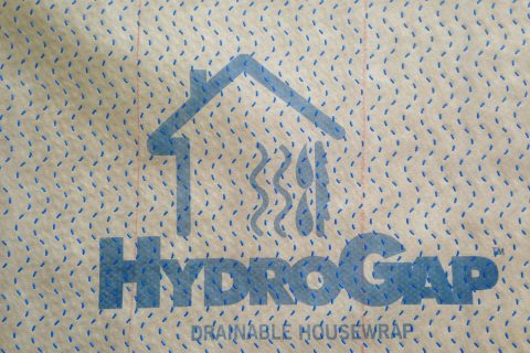 HydroGap Drainable Wrap system is installed on all of our homes.