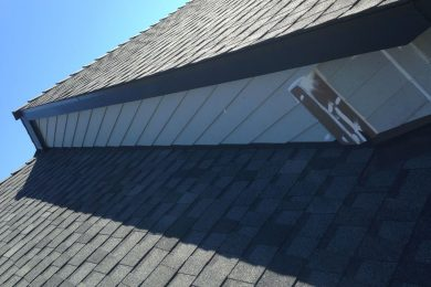ROOF-TO-WALL FLASHING